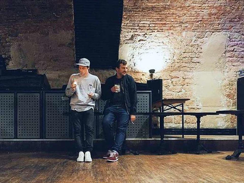 Namean und Funk Messiah haben am Samst...r DJ Duo No Mango ins Räng eingeladen.  | Foto: Promo