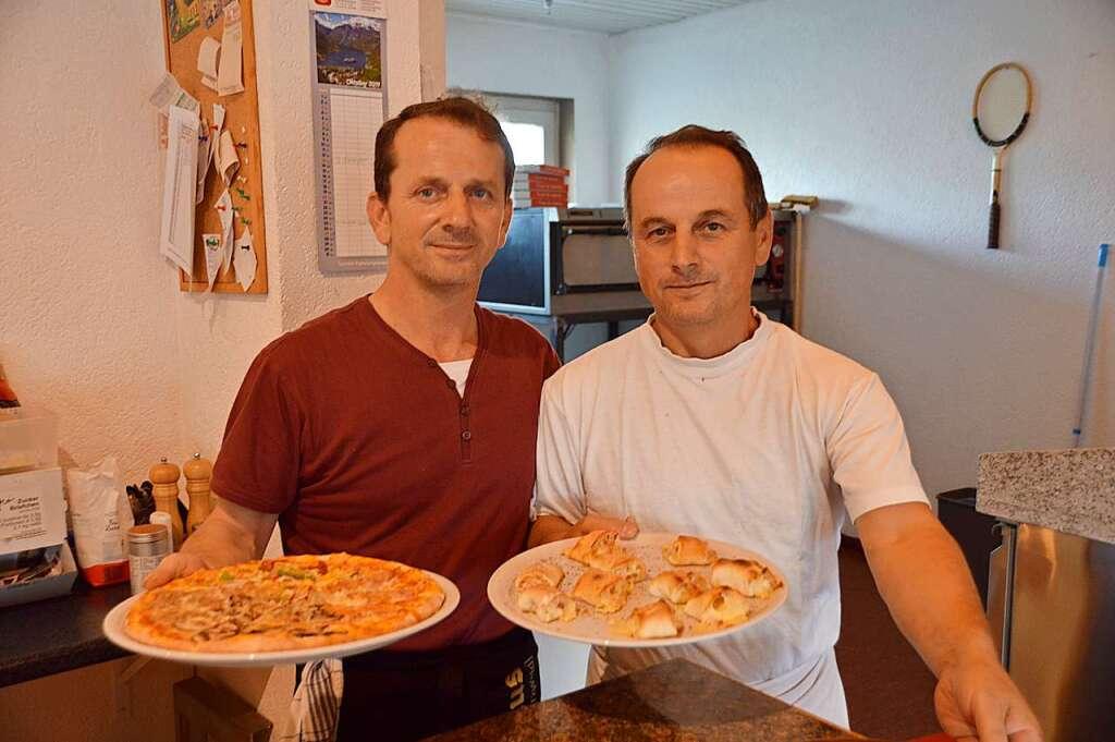 Im Portofino in Herten kann der Gast zwischen 22 Pizzen auswählen - Rheinfelden - Badische Zeitung