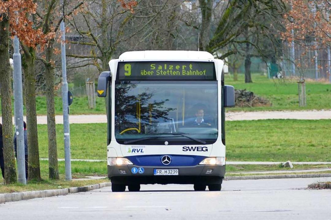 In einem Linienbus in Lörrach wurden sechs Menschen verletzt (Symbolfoto).  | Foto: Peter Gerigk