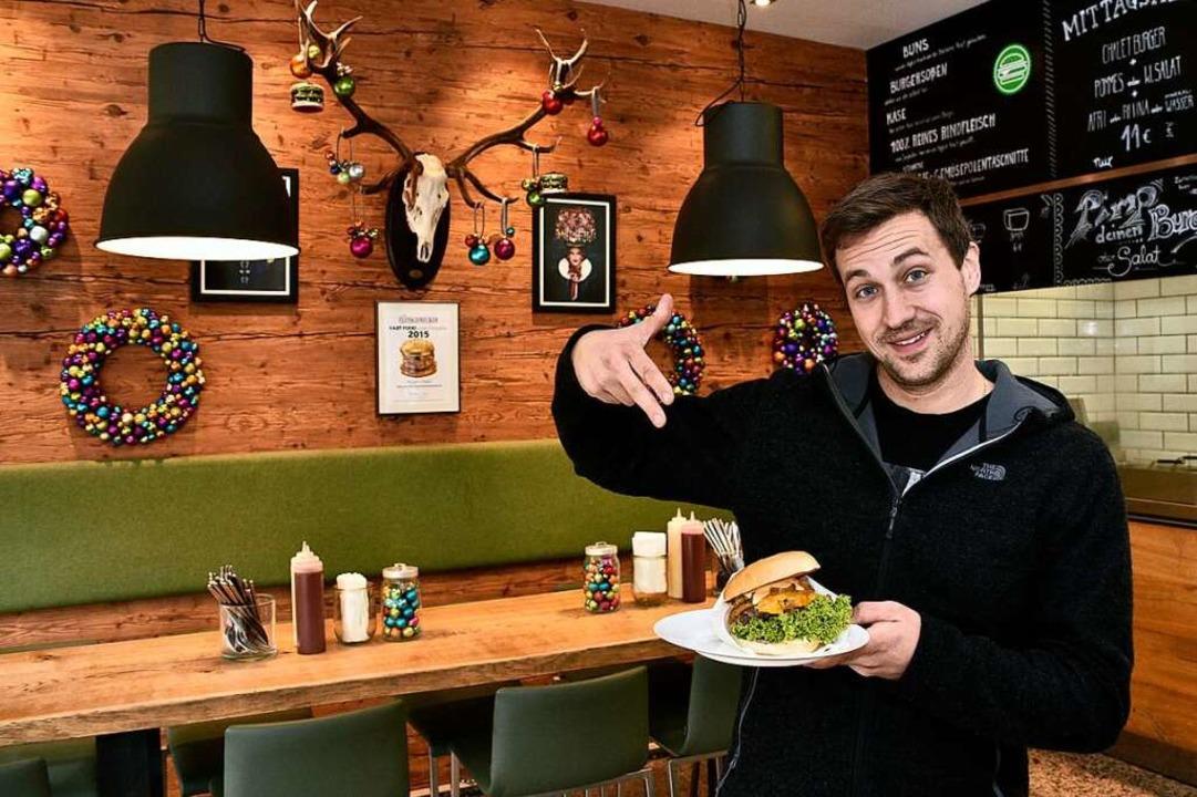 BurgerChalet-Inhaber Torsten Wagner  | Foto: Thomas Kunz