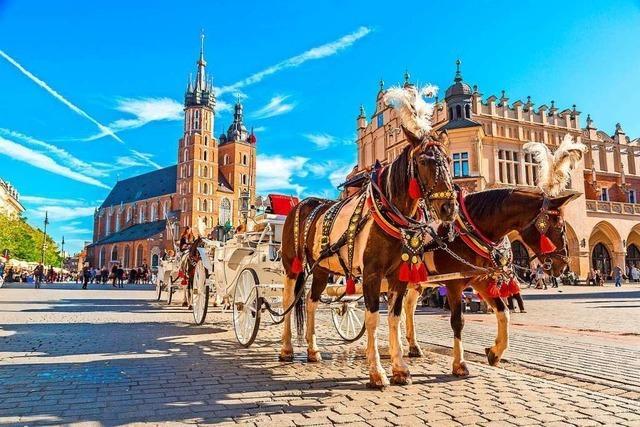 Der Süden Polens in der Stadt und auf dem Land