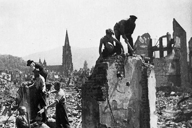 Die Badische Zeitung sucht Zeitzeugen der Freiburger Bombennacht 1944