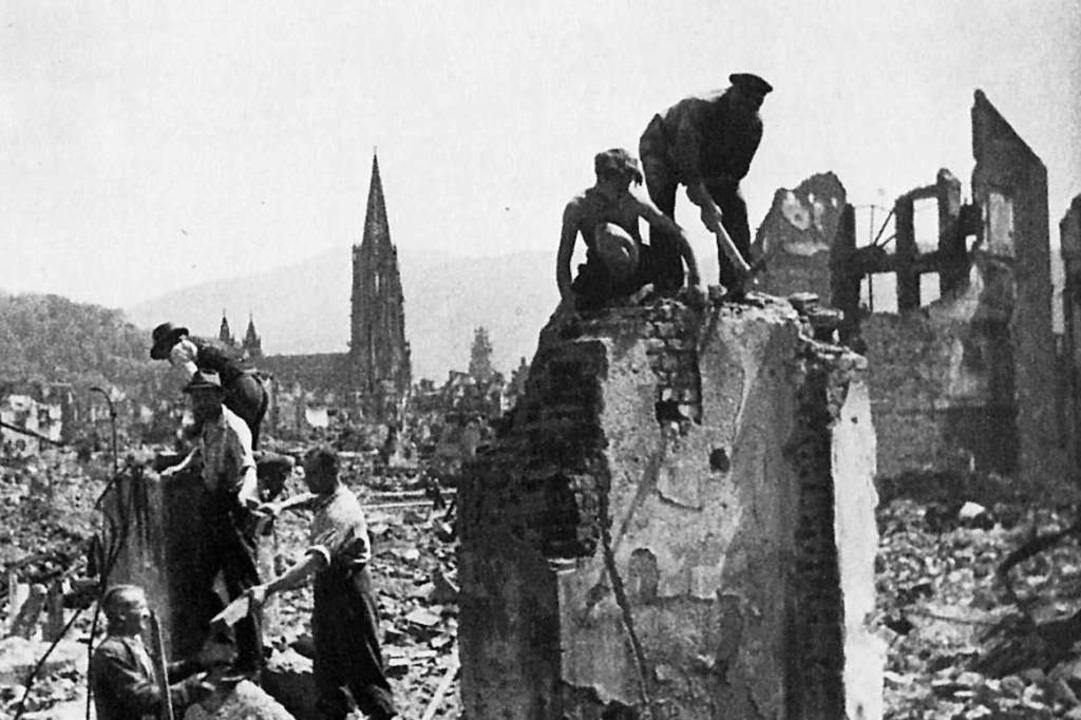 Nach der Zerstörung der Stadt im November 1944.  | Foto: Stadtarchiv