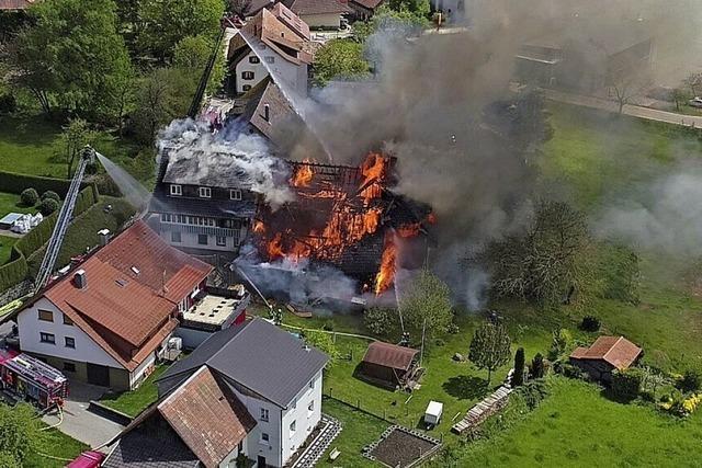 Staatsanwaltschaft stellt Ermittlungen nach Brand in Gresgen ein