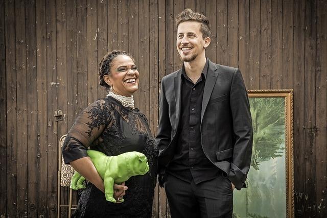 Cécile Verny und Johannes Maikranzin Badenweiler
