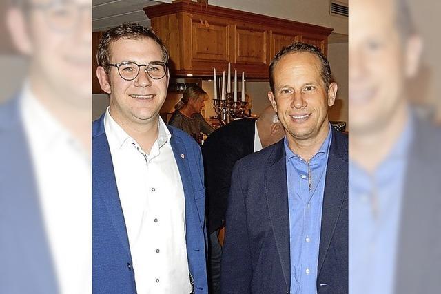 Gerhard Kaiser übergibt an Mario Brand