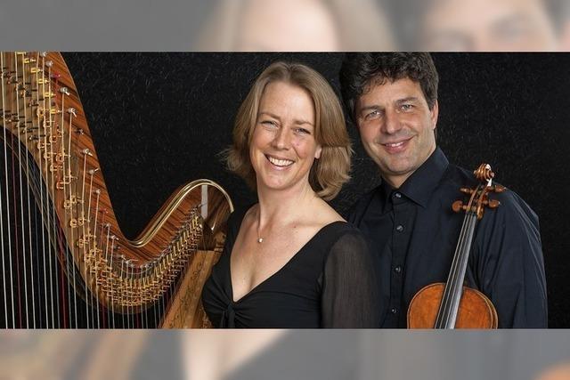 Kirsten Ecke, Michael Dinnebier in Kirchzarten