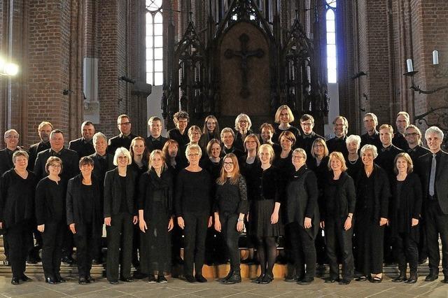 Pforzheimer Motettenchor singt in der Friedenskirche