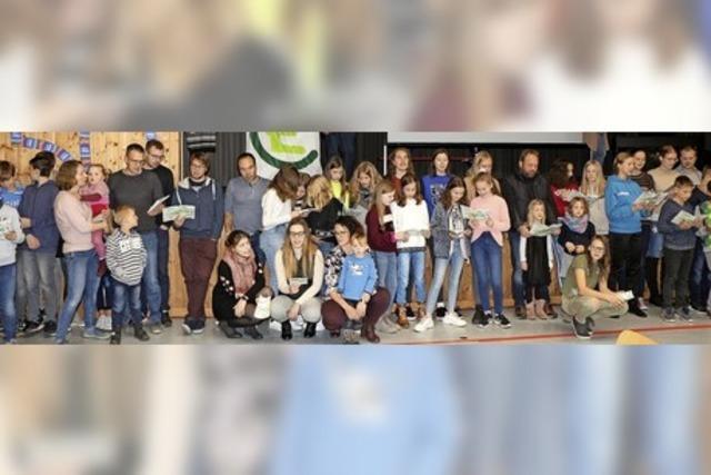 Erinnerungen und Lob für Jugendarbeit
