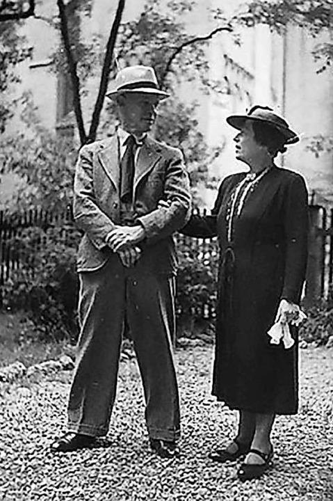 Eugen und Emma Oberdorfer waren die Gr...iedmann, die am Film mitgearbeitet hat  | Foto: Film Die Stille schreit