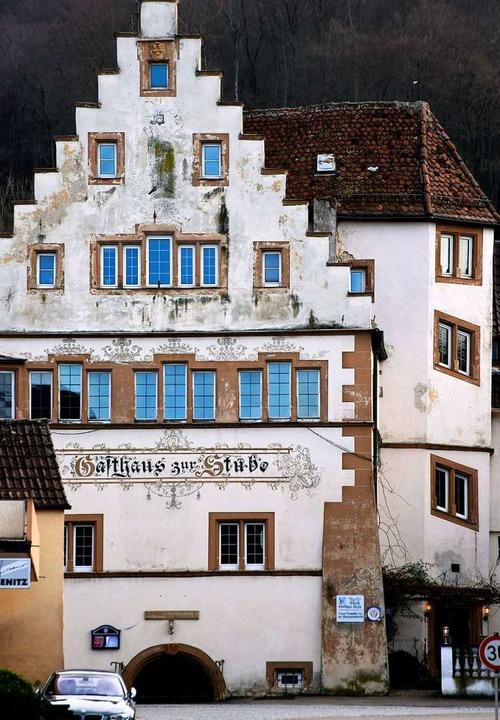 Prägt Pfaffenweilers Ortsbild: das Gasthaus Stube  | Foto: Siegfried Gollrad