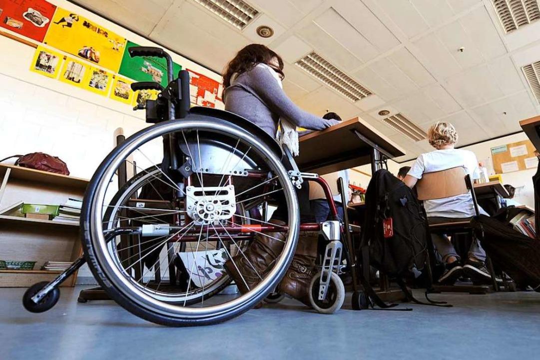 Nicht nur in der Schule ist Inklusion wichtig (Symbolbild)  | Foto: Holger Hollemann