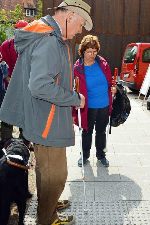 Noch gibt es in Kirchzarten viel zu tu... den Weg zum Veranstaltungsort finden.  | Foto: Gerhard Lück