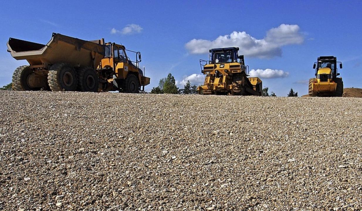 Enorme Materialmengen sind bei der Sanierung bewegt worden.   | Foto: Magdalena Kaufmann-Spachtholz