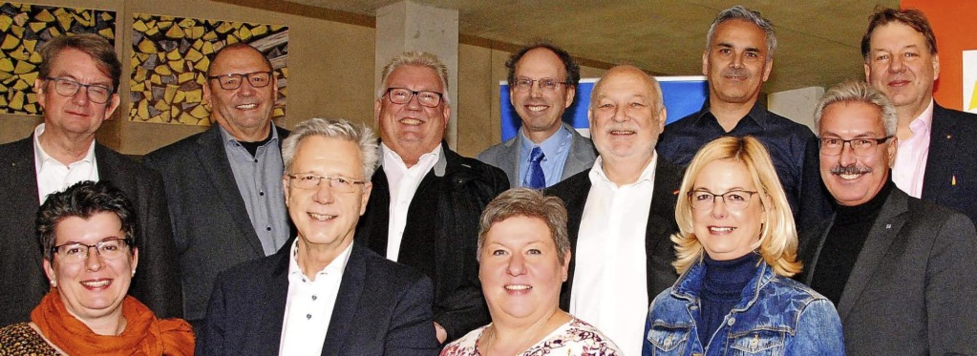Der Vorstand des CDU-Stadtverbands Wei... der Kreisvorsitzender Jürgen Rausch.   | Foto: Norbert Sedlak