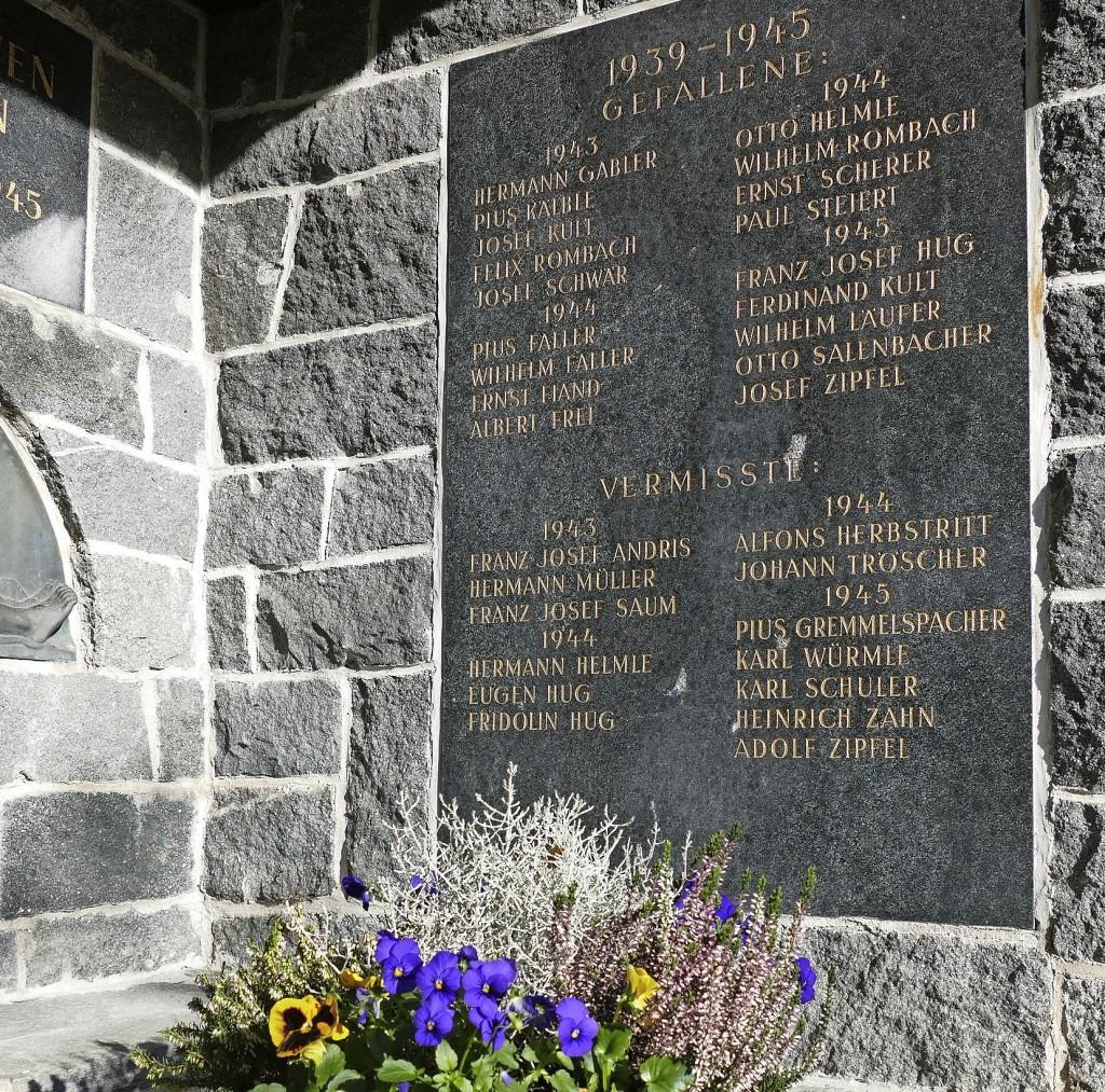 Gedenken an Kriegsopfer - Kirchzarten - Badische Zeitung