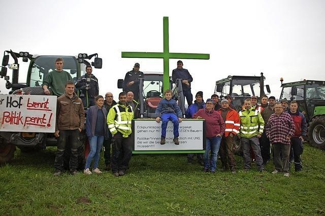 Staffellauf per Traktor