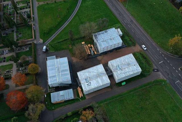 Die Flüchtlingsunterkunft in Fahrnau wird abgebaut