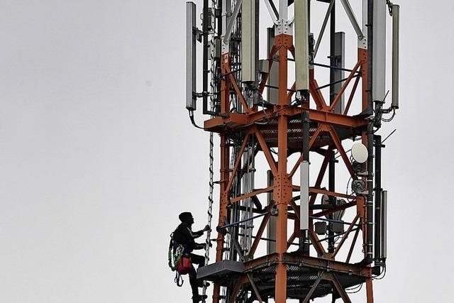 Regierung will Funklöcher schließen