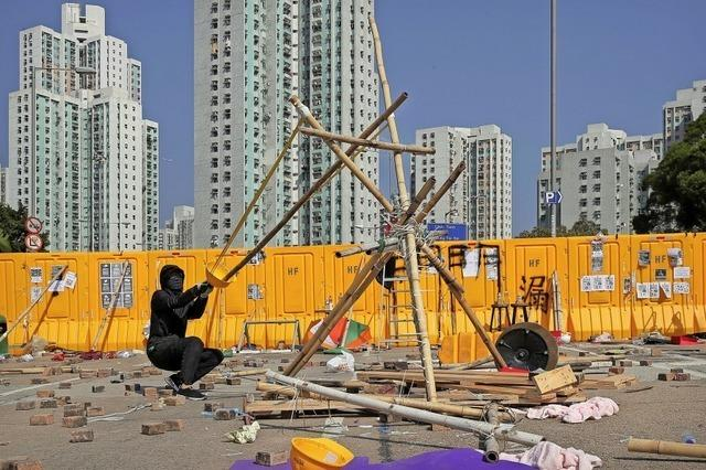 Proteste und Gewalt in Hongkong