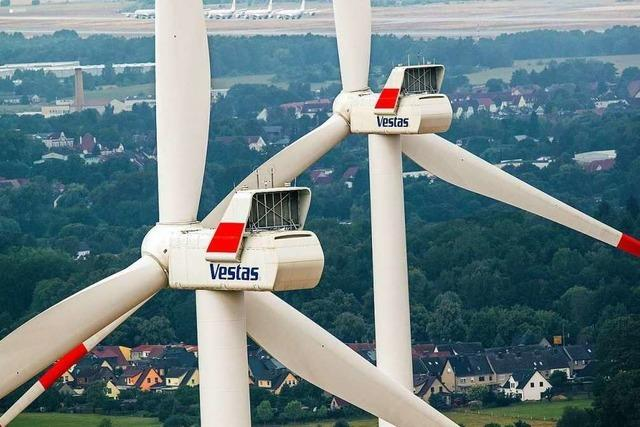 Grüne kritisieren Abstandsregelung für Windkraftanlagen