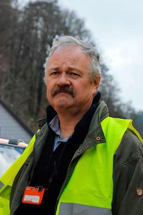 Geologe Clemens Ruch ist Experte für F...ologie, Rohstoffe und Bergbau  (LGRB).  | Foto: Kathrin Blum