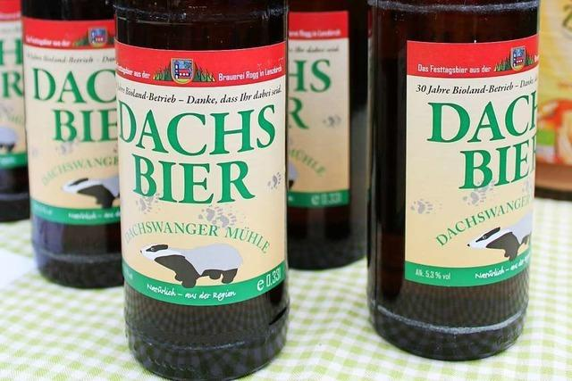 In der Dachswanger Mühle gibt's sogar ein eigenes Bier