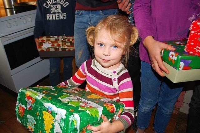 Weihnachtspäckchen-Aktion der Ukrainehilfe startet wieder
