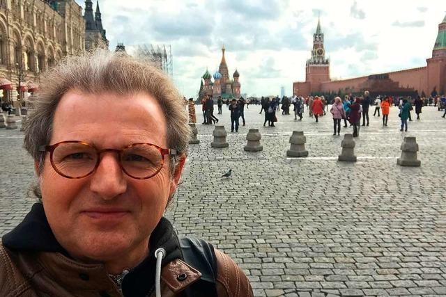 Freiburger Jazzpianist Mössinger auf Tour in Russland: