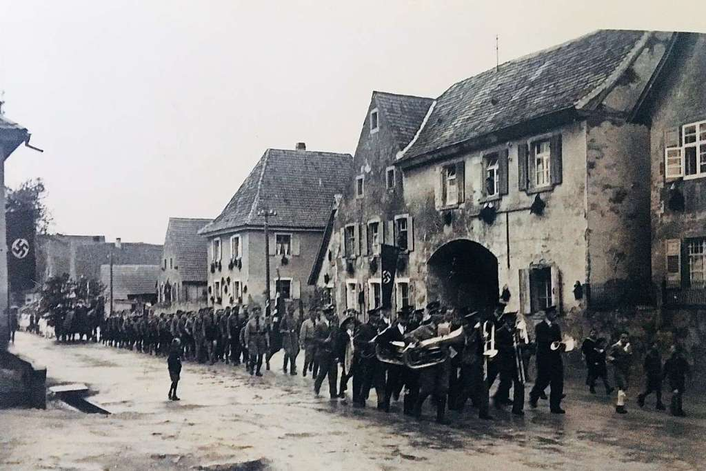 Als der Zweite Weltkrieg nach Tunsel kam - Bad Krozingen - Badische Zeitung - Badische Zeitung