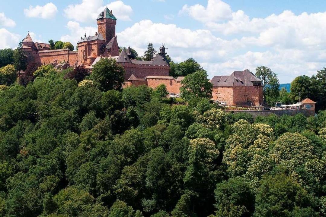 Thront weit oben –  die Hohkönigsburg.  | Foto: SEBASTIEN BOZON
