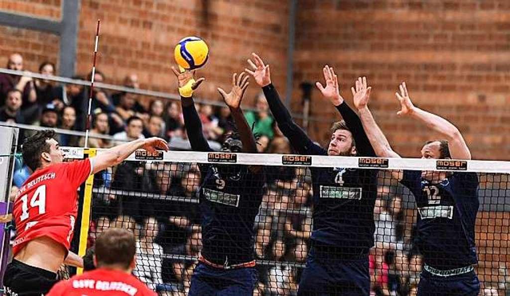 Keine Party bei 1844 Freiburg zum Abschied aus der Burdahalle - Volleyball - Badische Zeitung