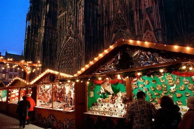 Straßburger Weihnachtsmarkt wird zur Hochsicherheitszone