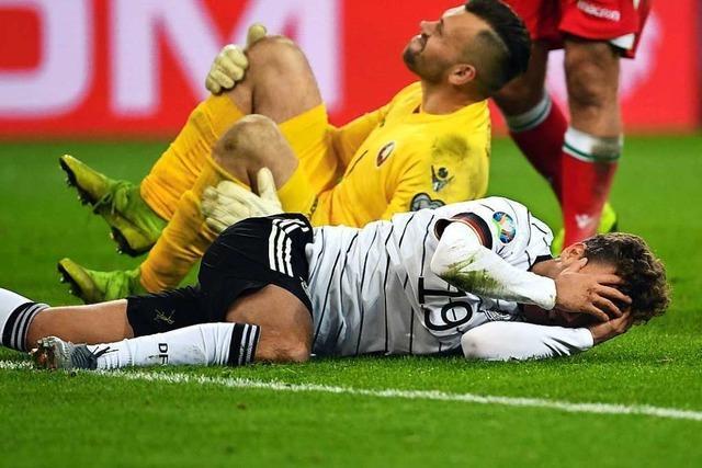 Deutschland qualifiziert sich mit 4:0 gegen Weißrussland für die EM