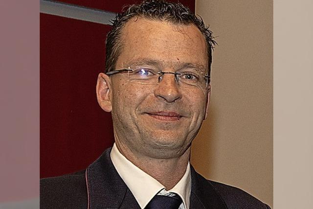 Thomas Raufer ist neuer Kommandant der Feuerwehr Lenzkirch
