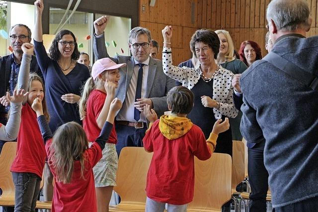 Feier für neue Schulleiterin