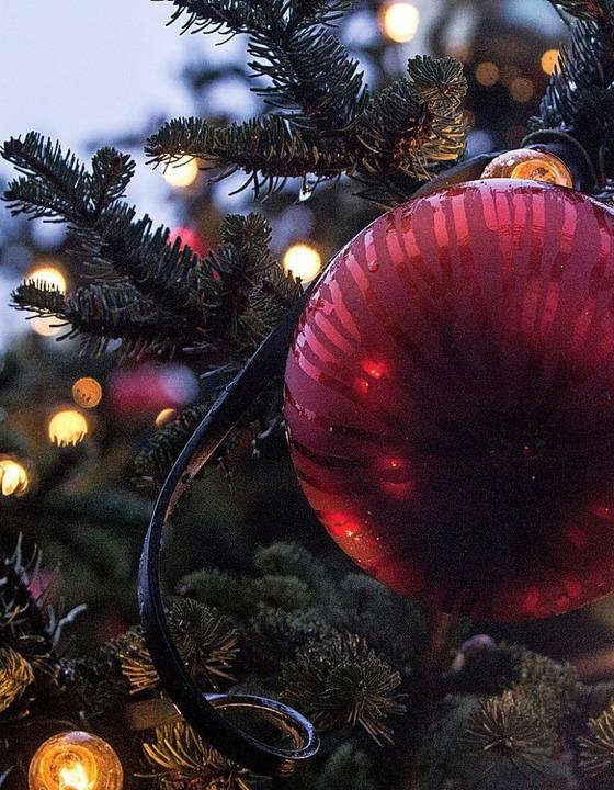 Hat Tradition: geschmückter Weihnachtsbaum  | Foto: Patrik Müller