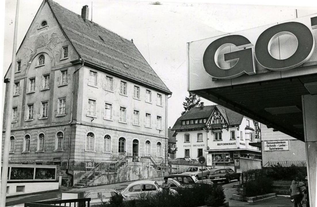 So sah das einstige Amtsgerichtsgebäud.... 1967 wurde das Gefängnis abgerissen.  | Foto: Roland Weis