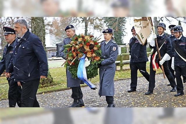 Gedenken an die Opfer der Kriege