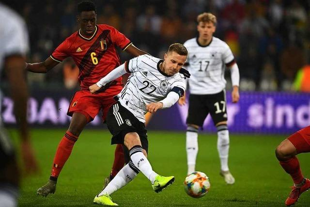 U21-Nationalmannschaft gegen Belgien in Freiburg