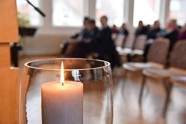Im Gedenken auch Zuversicht finden – der Volkstrauertag in Rheinfelden und Umgebung