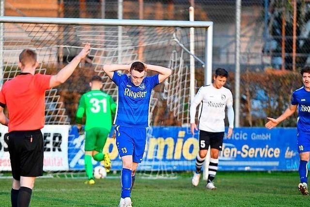 SV Endingen und der FC Teningen verpassen den Befreiungsschlag