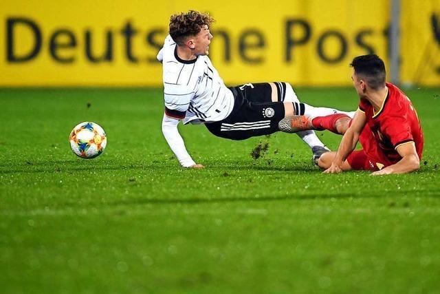 U-21-Nationalmannschaft erlebt gegen Belgien in Freiburg einen Dämpfer