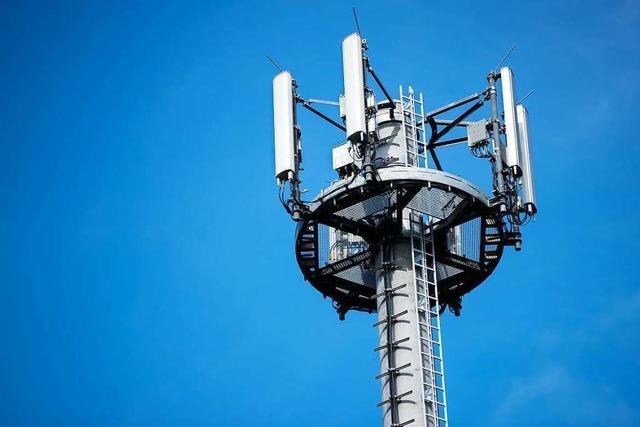 Regierung will für Mobilfunkmasten werben und Funklöcher schließen