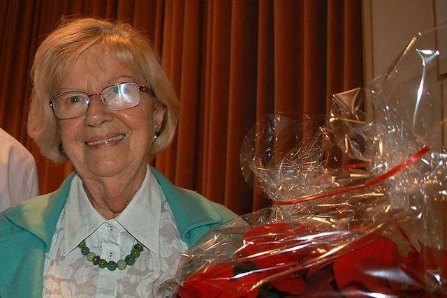 Edith Popp hat 52 Jahre Kurse beim TV Schwörstadt geleitet