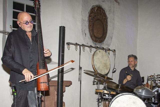 Schweizer Musiker begeistern mit faszinierenden und fremdartigen Klangwelten