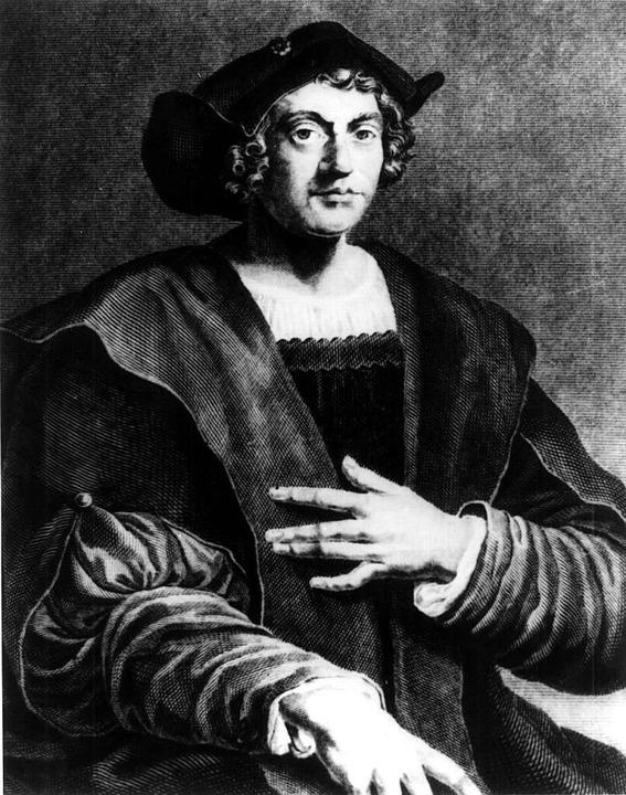 Ein undatiertes Porträt von Christoph Kolumbus  | Foto: -