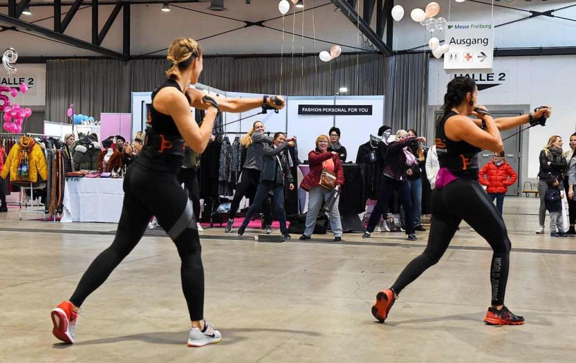 Fitnessboxen – immer noch Trend.  | Foto: Rita Eggstein