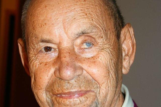 Maler, Meister, Familienmensch: Ernst Sutter feiert in Maulburg seinen 85. Geburtstag
