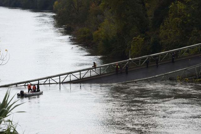 Straßenbrücke bei Toulouse stürzt ein – 15-Jährige stirbt